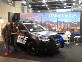 stag police in USA gas show 2015