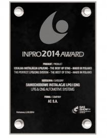 INPRO 2014 awards
