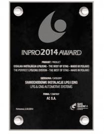 INPRO 2014 awards